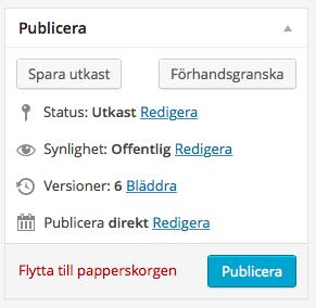 Publiceringsstatus